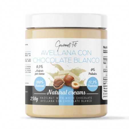 PERFECT NUTRITION CREMA DE AVELLANA CON CHOCOLATE BLANCO 250 GR