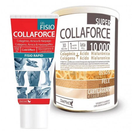 PACK DIETMED COLLAFORCE GEL FISIO + SUPER COLLAFORCE 10.000