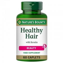 NATURE'S BOUNTY HEALTHY HAIR WITH KERATIN 60CAP