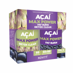 AÇAI MAX POWER 60 + 60 COMP.