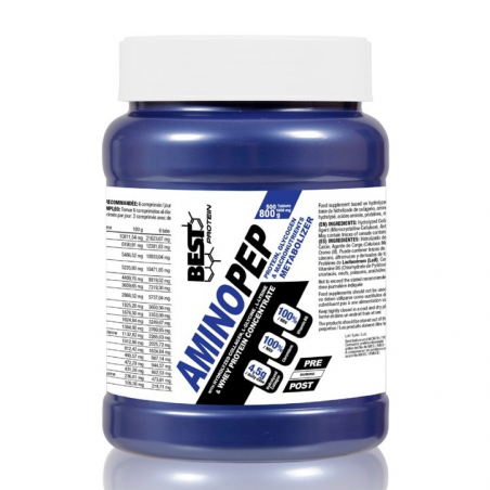 BEST PROTEIN AMINO PEP 500 TAB