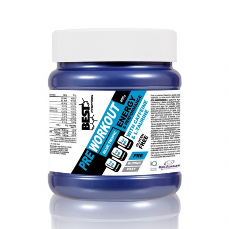 BEST PROTEIN PRE WORKOUT 400 GRS