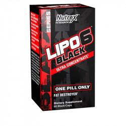 NUTREX LIPO 6 BLACK U.C 60...