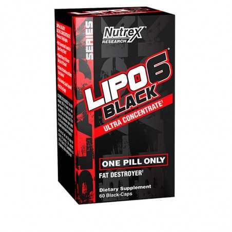 LIPO 6 BLACK U.C 60CAPS