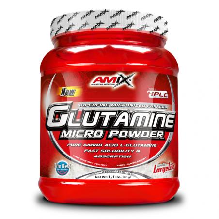 AMIX GLUTAMINE MICRO POWDER 500 GR