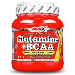 GLUTAMINE + BCAA POWDER 530 GR