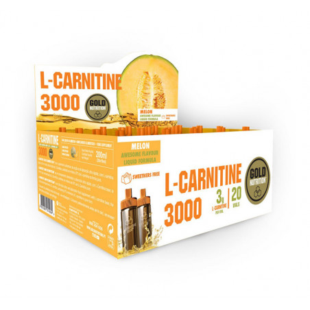 GOLD NUTRITION L-CARNITINE 3000 20 VIALES