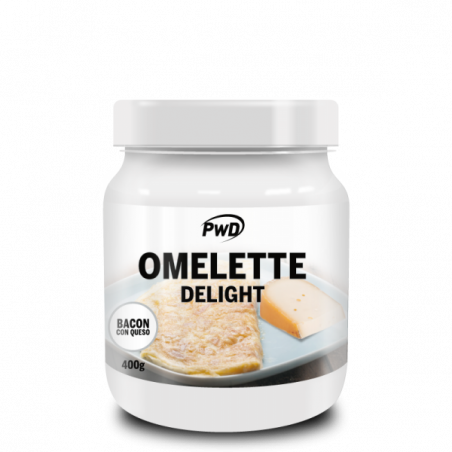 PWD NUTRITION OMELETE DELIGHT 400 GR (BACON CON QUESO)