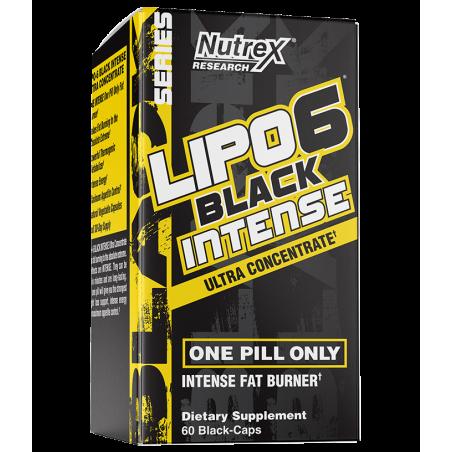 NUTREX LIPO 6 BLACK INTENSE 60 CAP