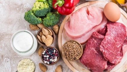 Suficiente proteina
